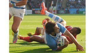 Los Pumas vencieron a Tonga con punto bonus