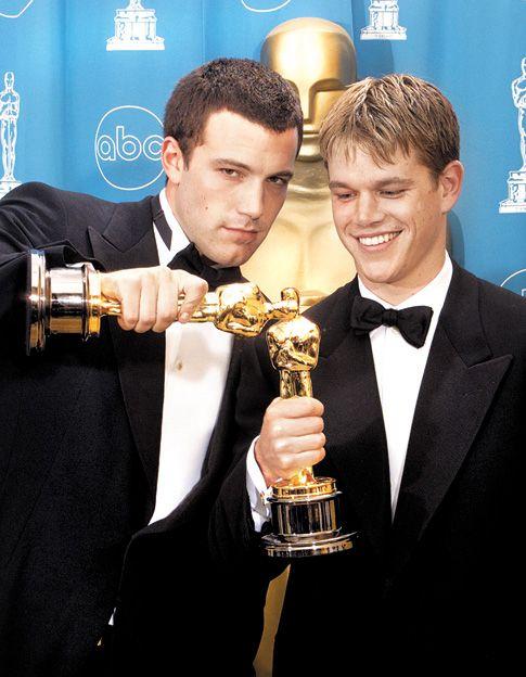 Amigos. Pero dijeron que Ben Affleck y Matt Damon eran pareja.
