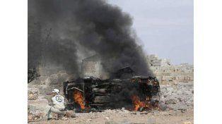 Tropas iraníes se sumaron a la guerra siria, y Rusia bombardeó a un grupo entrenado por la CIA