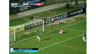 Un jugador de Juventud Unida metió un golazo en su propio arco