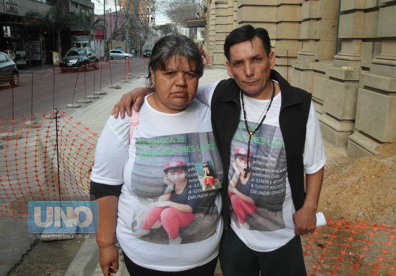 La familia de Josefina pide más acompañamiento en las marchas por justicia