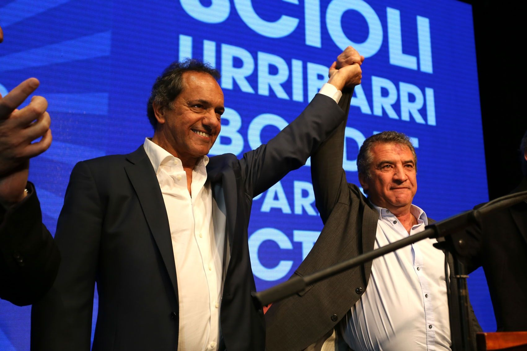 Urribarri será uno de los ejes en la campaña presidencial de Scioli