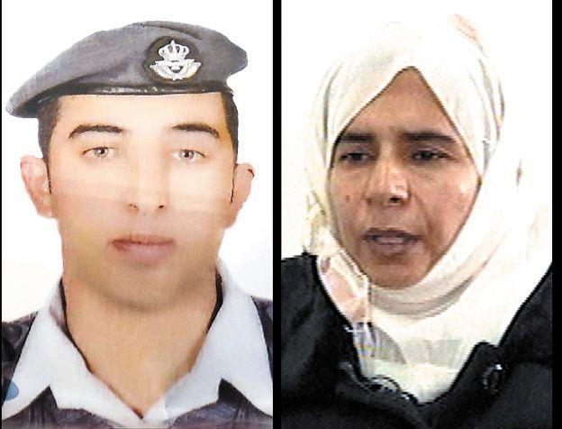Jordania intercambiaría una terrorista por un piloto