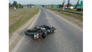 Joven motociclista perdió la vida en la Ruta 12