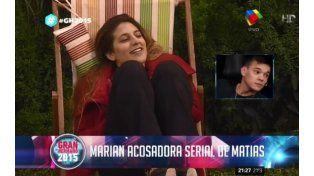 #GH2015: Se acabó el duelo para Marian: Me gusta Matías