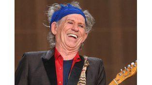 Keith Richards confirmó que los Rolling Stones vendrán en febrero