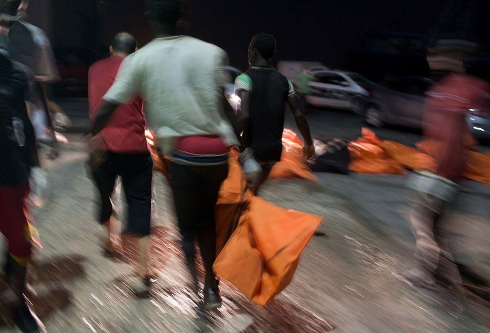Otros 200 migrantes muertos en naufragios frente a Libia