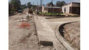Vecinales. Obras en Parque Mayor y Los Gobernadores.