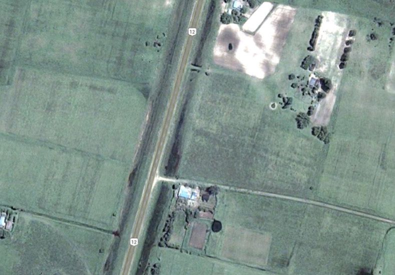 Imagen satelital Google