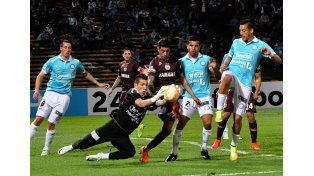 Belgrano se durmió e igualó ante Lanús