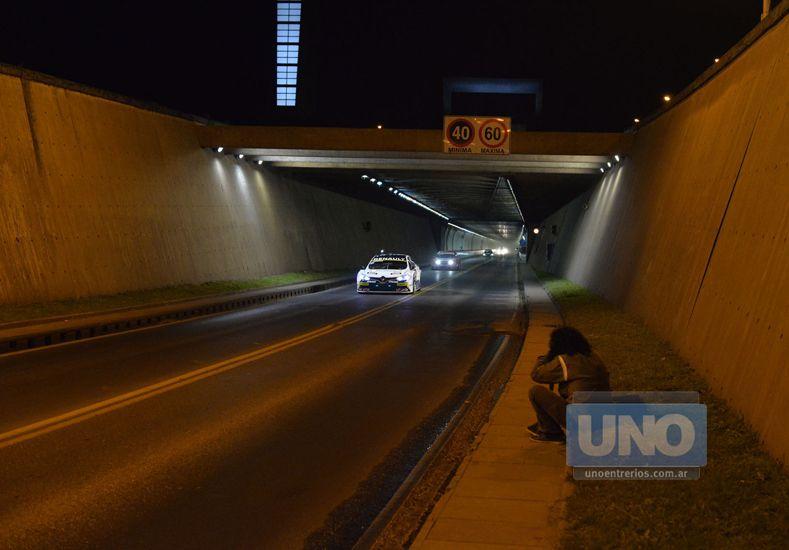 El Súper TC2000 se lució en el Túnel Subfluvial