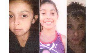 Buscan a tres hermanos de 8, 10 y 13 años desaparecidos en Santa Fe