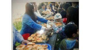 Festival infantil junto a la familia en barrio Los Gobernadores
