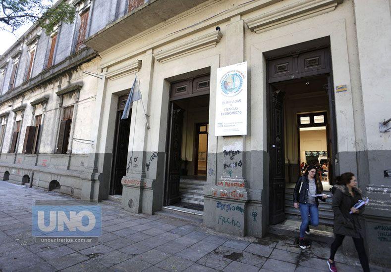 Posgrado. El curso se realizará en Ciencias Económicas. Foto UNO/Diego Arias