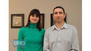 Autoridades. Ana Gabriel y Gerardo Paulina