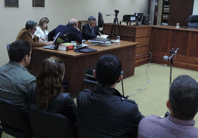 Insólito. Acusados no mostraron arrepentimiento en el juicio.  Foto: 03442