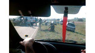 Cinco muertos tras un grave accidente en Hernández