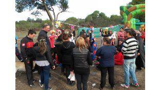 Festejos del Día del Niño en barrio Vicoer 46 Viviendas