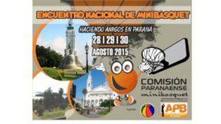 Lo que viene. Desde el viernes y hasta el domingo se llevará adelante en Paraná el Encuentro Nacional de Minibásquet.