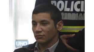"""""""Soy inocente"""". Bressan lo afirmó ante el tribunal que lo juzgará.  Foto UNO/Juan Ignacio Pereira"""