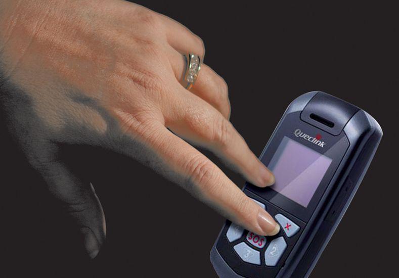Botón antipánico. Debe formar parte de una serie de acciones para que sea efectivo.  Foto Internet