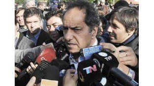 Scioli repudió la brutal represión en Tucumán y le recomendó a Macri no arengar