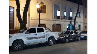 Flota vehicular. Una camioneta Toyota Hilux nueva