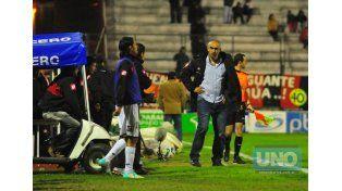 """Delfino reconoció que a esta altura el torneo """"es duro para todos"""". Foto UNO/Juan Manuel Hernández"""
