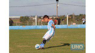 El Mondoguero recibe en su cancha al equipo de Viale.  Foto UNO/Juan Ignacio Pereira