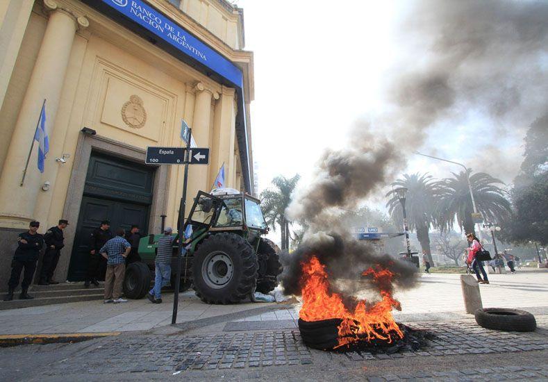 Reclamo. Demandan financiamiento especial del Banco Nación.