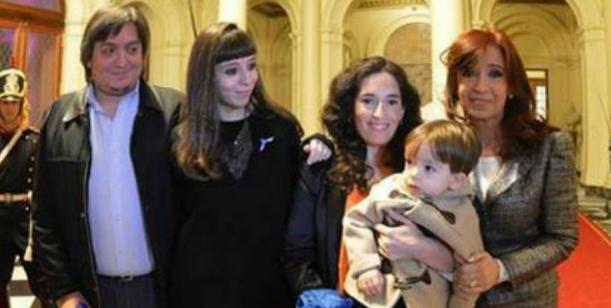 Cristina ya es abuela de un niño.