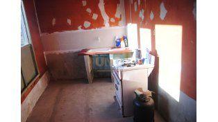 En la escuela de Boca hoy funciona un centro de salud. (Foto UNO/ Juan Manuel Hernández)