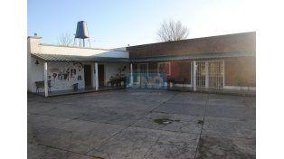 A metros del edificio histórico se levanta hoy la escuela N° 48