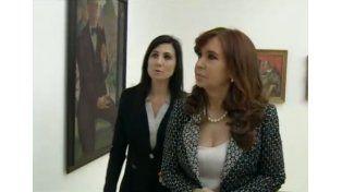 Cristina inauguró obras de remodelación del Museo Nacional de Bellas Artes