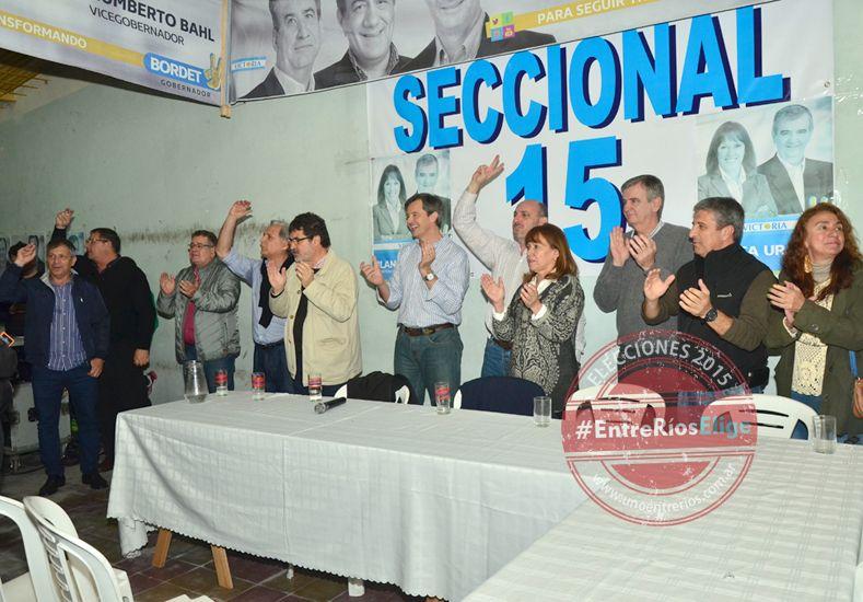 El FpV de Paraná dio una muestra de unidad