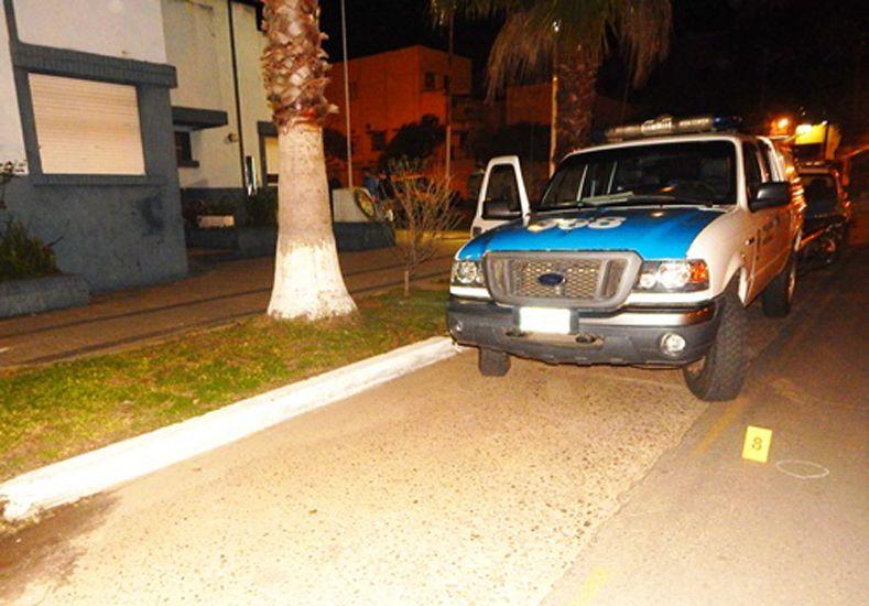Delincuentes en moto dispararon contra la Comisaría Segunda de Concordia