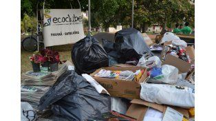 Aporte. El objetivo es afianzar la cultura ambiental en la ciudad.  Foto Gentileza/Ecoclub