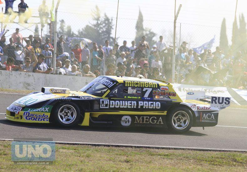 El Gurí Omar Martínez viene de ganar en Paraná y llega como único puntero de la categoría.  Foto UNO/Diego Arias