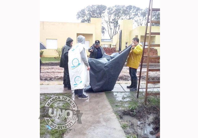 Vecinos de barrio IAPV de Federal aún sufren las consecuencias de las lluvias