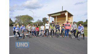 Una de las dos citas se efectuó el fin de semana en el Complejo Ciclítstico Arnoldo Sabino Pucheta.  Foto UNO/Mateo Oviedo