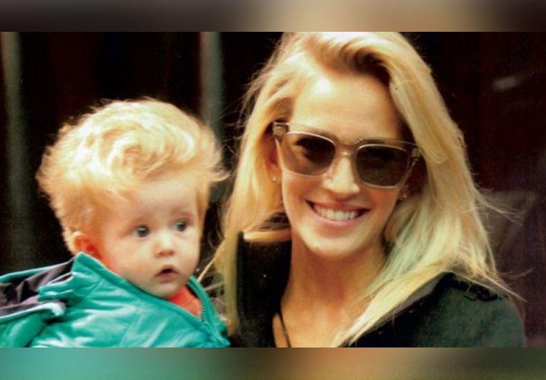 El sufrimiento de Luisana Lopilato por la salud de su hijo
