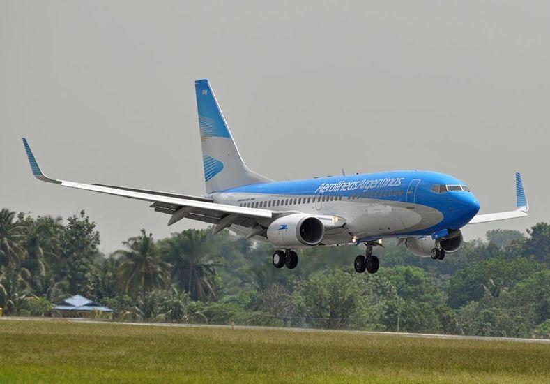 Aerolíneas Argentinas logró un nuevo récord de pasajeros transportados en un solo día