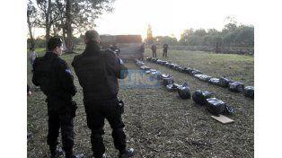 Importante secuestro de droga al este de Paraná