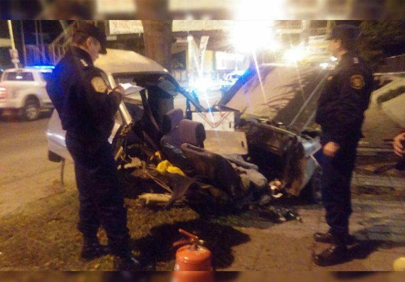 Segunda víctima fatal por el accidente del domingo en avenida Almafuerte