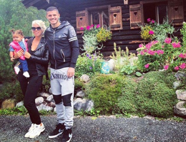Zaira festejó sus 27 años en Austria y Wanda le dio una sorpresa