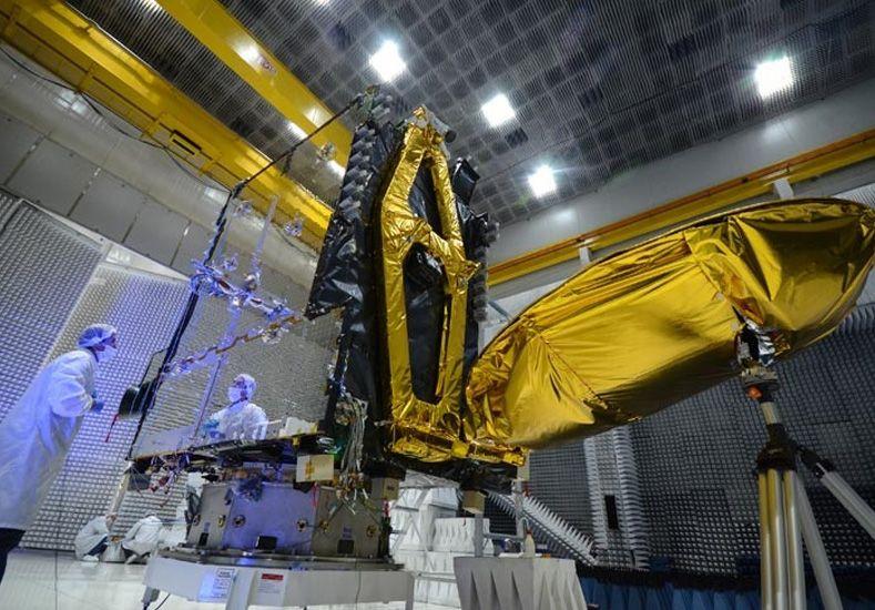 El Arsat-2 ya está embalado y listo para ser lanzado