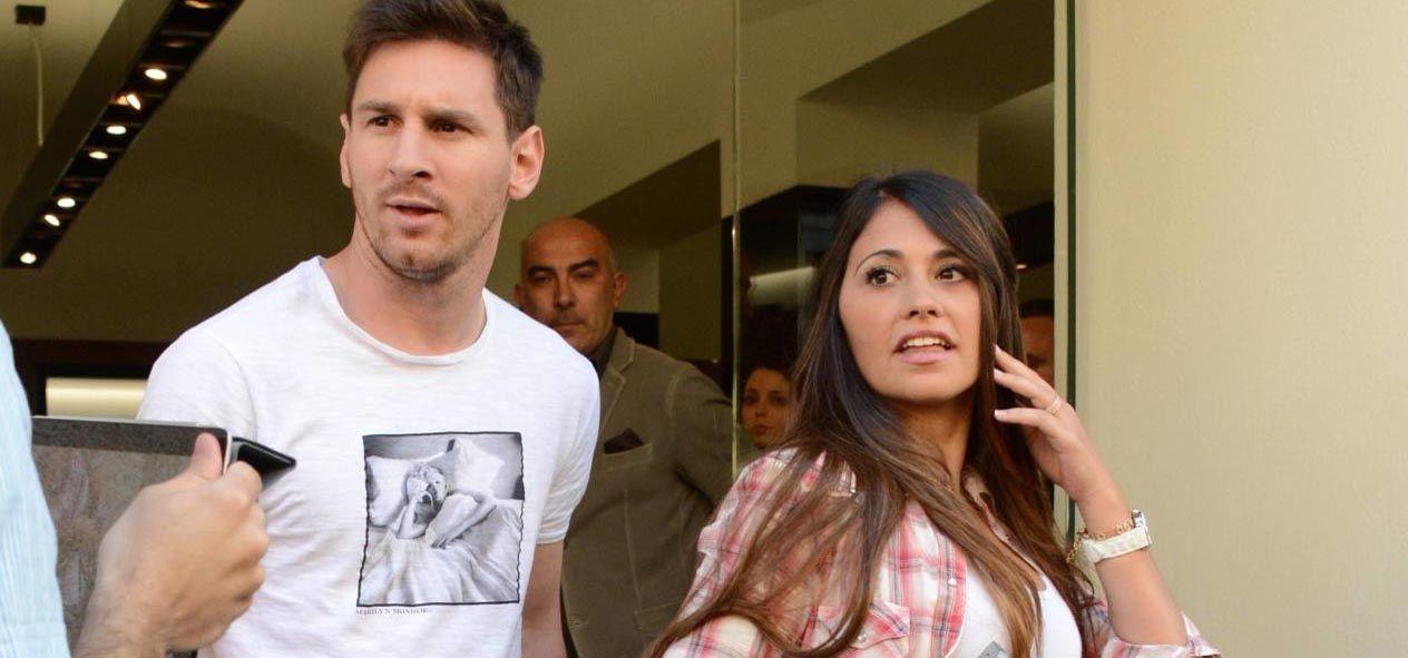 La polémica foto de la mujer de Lionel Messi