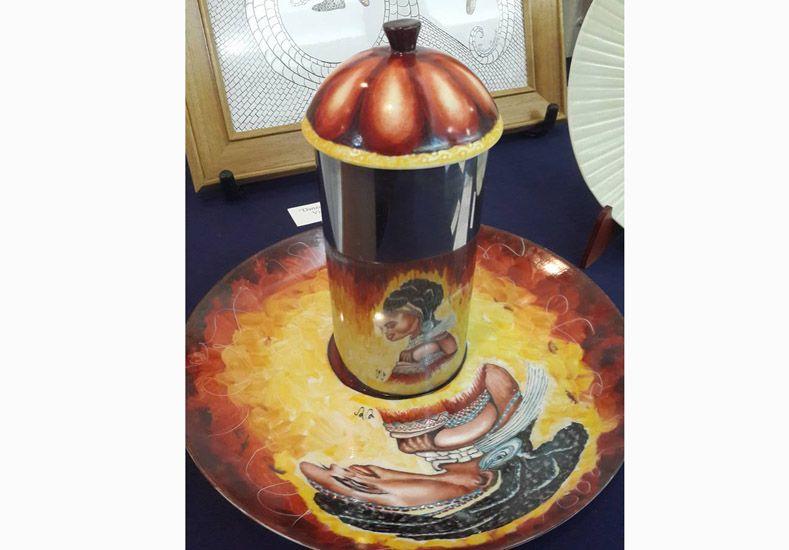 Porcelana. Odeard obtuvo el premio a la originalidad.