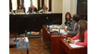 Tribunal. Resolvieron darle a Romero salidas socio-familiares. Foto UNO/Juan Ignacio Pereira