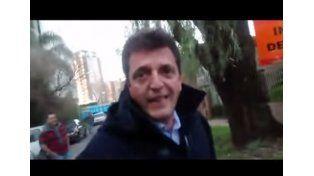 La reacción de Massa ante vecinos de Tigre